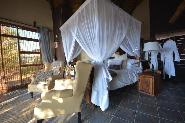 An incredible room, perfectly romantic just for two!   #gorgous #interior #bush #africanbush #hoedspruit #southafrica #welgevonden #waterberg #romantic