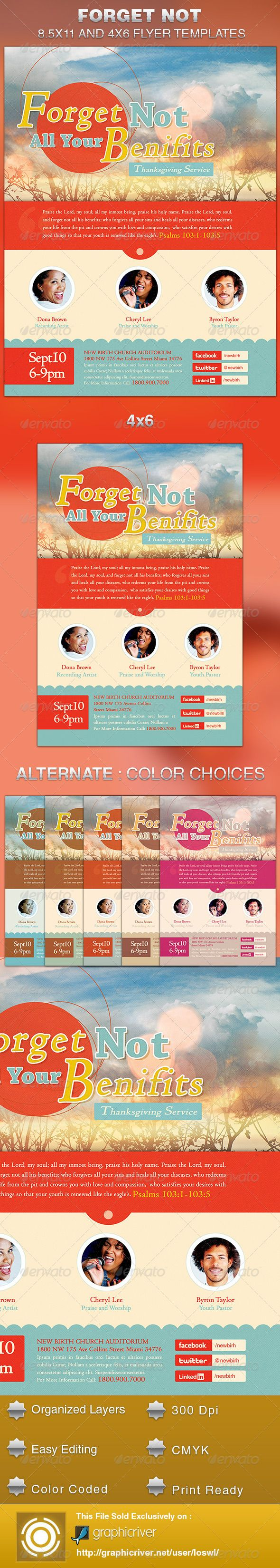 94 best images about Print Templates – Benefit Flyer Template