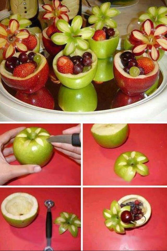 Apple fruit flowers