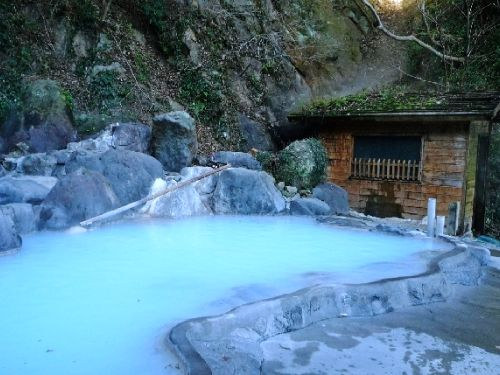 Kankaiji hotsprings, Ooita, Japan