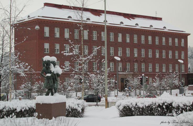 School in Lahti, Finland
