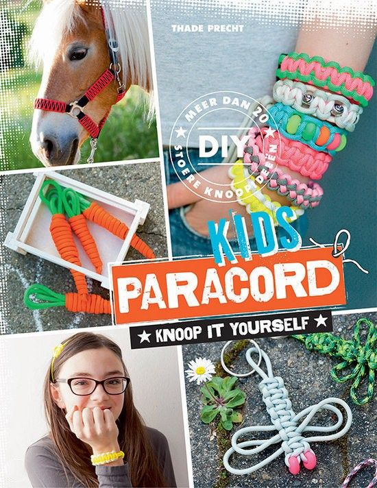 Paracord kids ISBN9789043917919