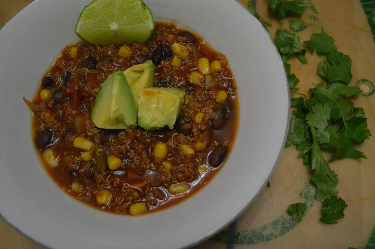 Bol de quinoa façon chili