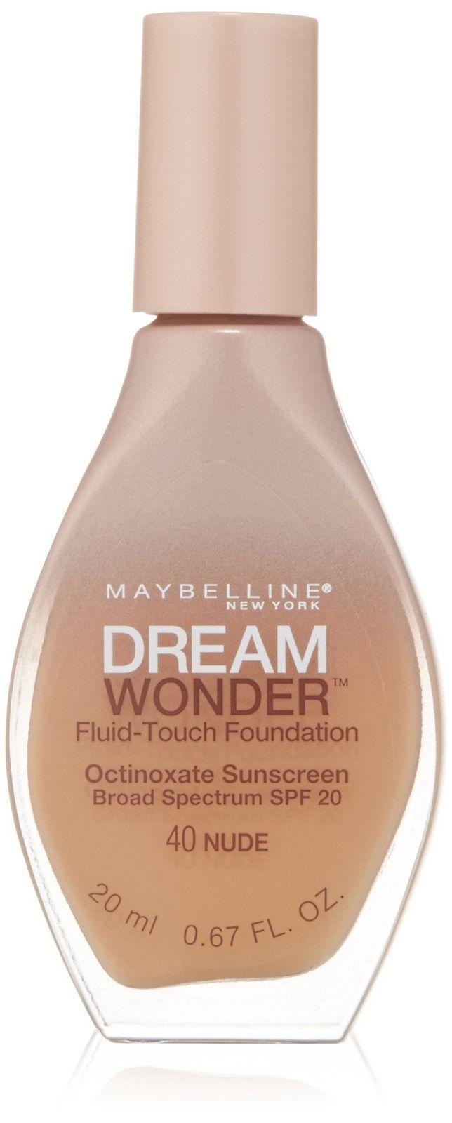 Maybelline New York Dream Wonder Fluid-touch Foundation Pick Ur Color