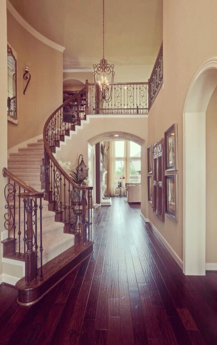 Best 75 Best Grand Staircases Images On Pinterest Banisters 400 x 300