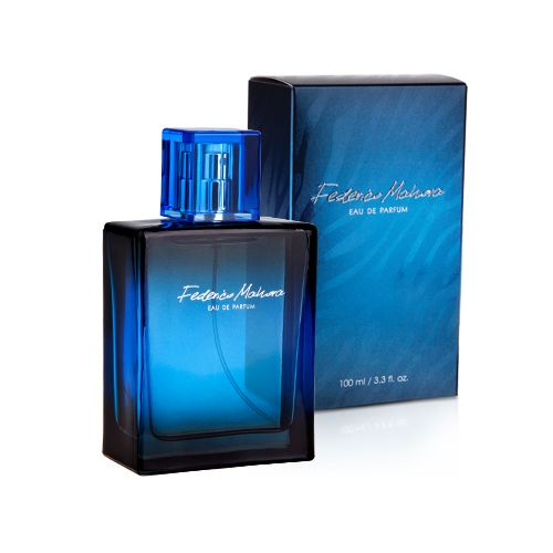 This 100 ml Eau de Parfum is a sophisticated aroma of musk, amber, rosemary and African geranium.  Total weight : 360.0 [g]