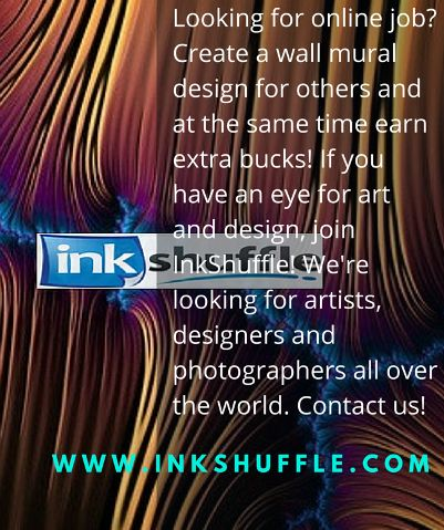 InkShuffle is looking for artists,‬ ‪‎graphic designers‬ ‪and photographers‬. If you got an eye for art and ‪‎design‬ and want to work at your most convenient time, then join InkShuffle! :-) Register for free at:  http://www.inkshuffle.com/sell/