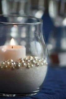 Splenda, Pearls, Pillar Candles