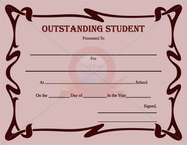 10 best STUDENT CERTIFICATE TEMPLATES images on Pinterest - birth certificate template printable