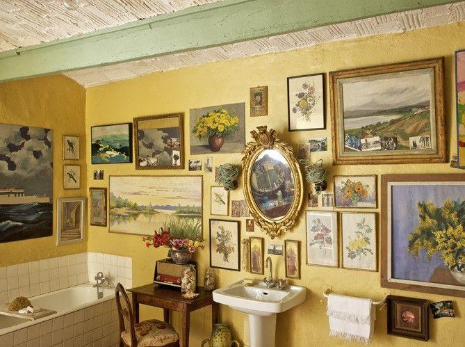 73 best Display: Art in the Bathroom? images on Pinterest | Bathroom ...