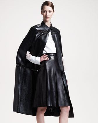 valentino black leather jacket