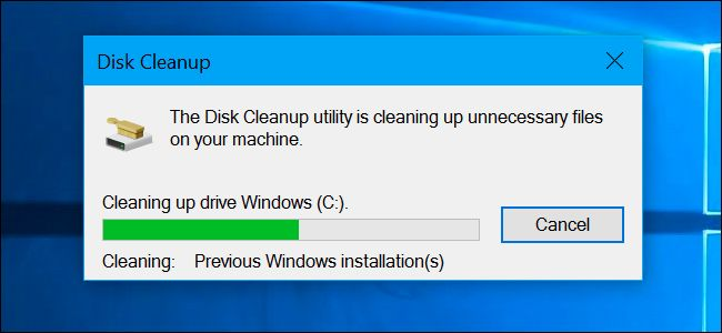 The Disk Cleanup tool included with Windows can quickly erase various system…