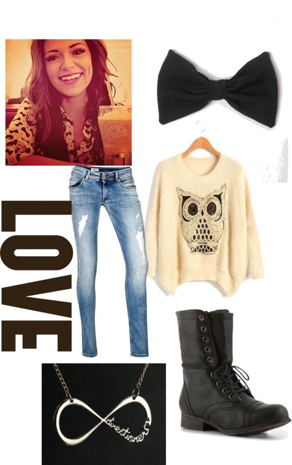 """Bethany Mota Inspired"" by katethibodeaux ❤ liked on Polyvore"