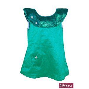 Green Daisy Tunic