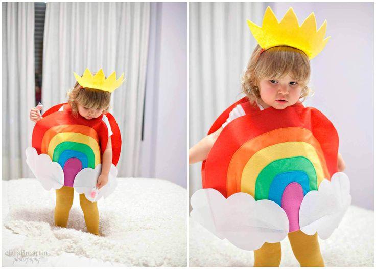 Un disfraz de arcoíris para mi bebé arcoíris - claraBmartin
