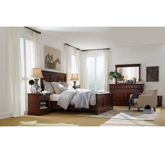 Danville Cherry King Bed Art Van Furniture New House