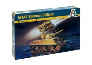 Carro armato M4A3 Sherman Calliope scala 1:35