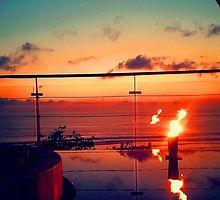 Bali Sunset Flame by designzbyjamz