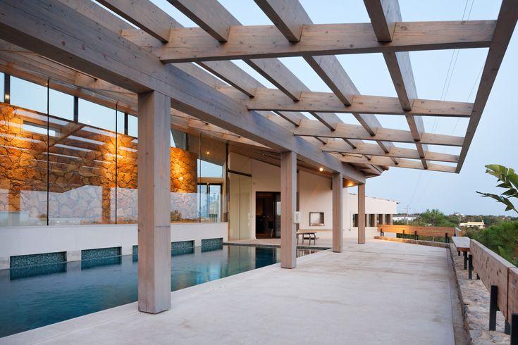 Villa in Algarve, Portugal by Hilberink Bosch Architecten