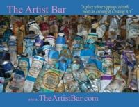 """In October, 2012, alumna Jennifer Clement '93 launched her business, The Artist Bar, a traveling """"paint-and-sip"""" party for people to come, have some cocktails and make art. http://www.montserrat.edu/blog/category/alumni/www.theartistbar.com"""