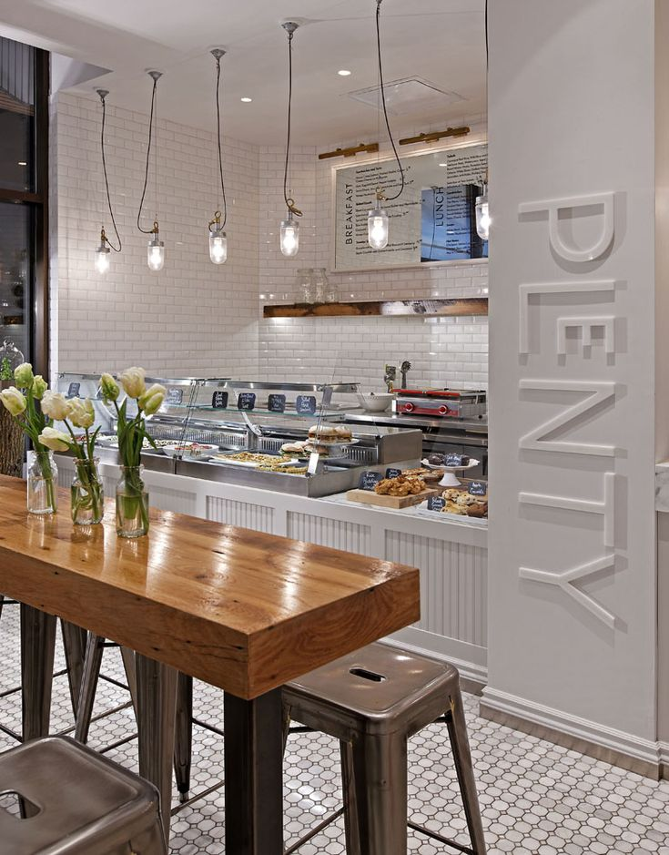 Name Cafe Plenty Location Toronto ON Design II BY IV DESIGN Uses A Neutral Color Palate Natural Materials And Gr