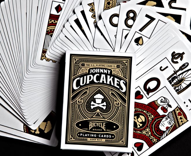 Playing Card Designs   johnny-cupcakes-playing-cards-bicycle-wired-design