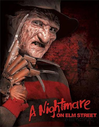 Nightmare on Elm Street Freddy Krueger Movie Tin Sign Tin Sign at AllPosters.com