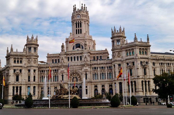 Ayuntamiento -Real Casa de Correos- Pza. de Cibeles.