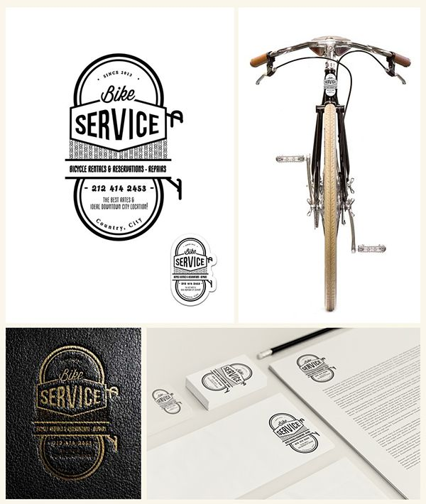 Vintage Service logo collection