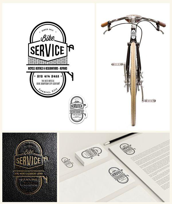 Vintage Service logo collection