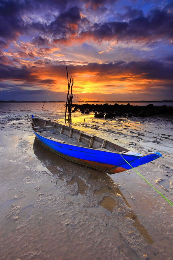 Indonesia Boat  by Danis Suma Wojaya