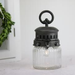 Fransk stallampa batteridriven 22 cm