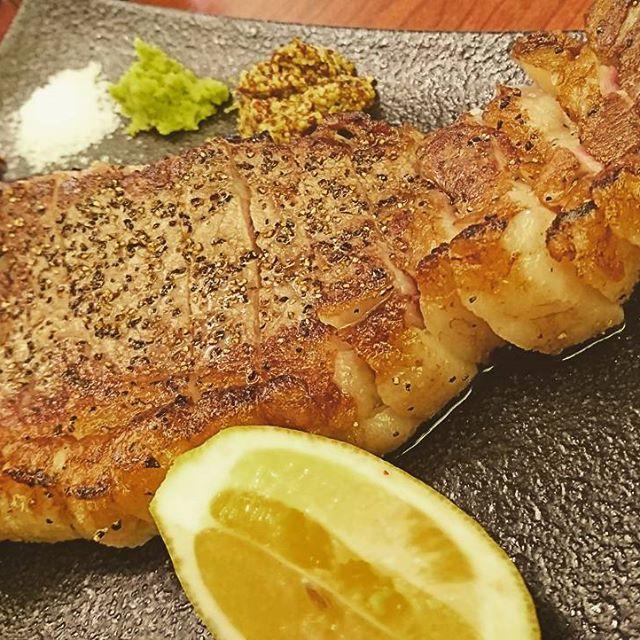 やっぱり肉! #肉 #ステーキ #Lボーン #元気 #塊肉 #うまい