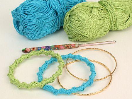 Crochet Pattern for Bangle Bracelets