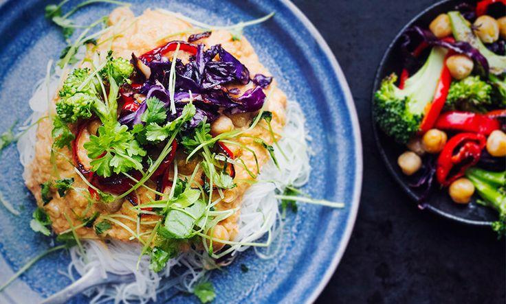 Lättlagad vegansk middag – passar till både vardag och fest