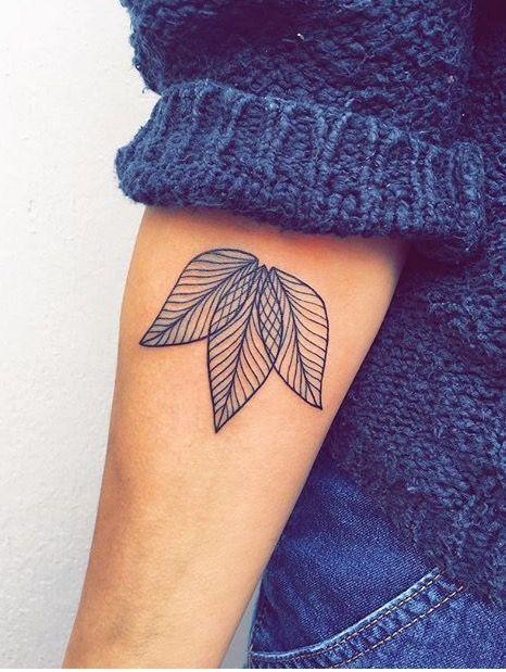 Tattoo style denim jeans tatts tattooed winter fashion