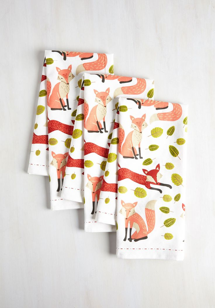 Good Keen Fun Tea Towel Set, #ModCloth (Mom)