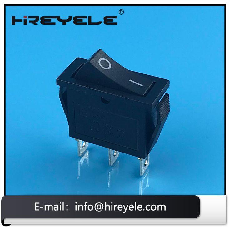 10pcs Duplex Double Pole Single Throw Rocker Switch W Manual Guide
