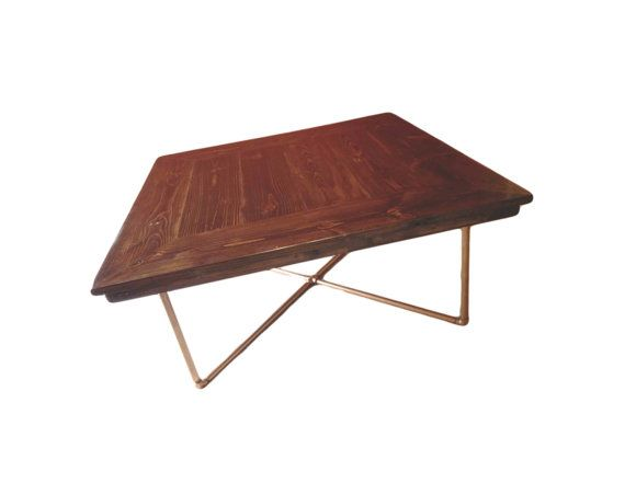 Rustic industrial pipe chic square dining table including free shipping* on Etsy, $4,980.00