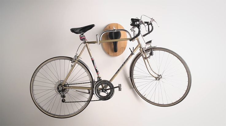 wandtroph e als fahrrad aufh ngung hier geht 39 s zur anleitung. Black Bedroom Furniture Sets. Home Design Ideas