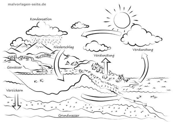 malvorlage  ausmalbild umweltschutz naturschutz und