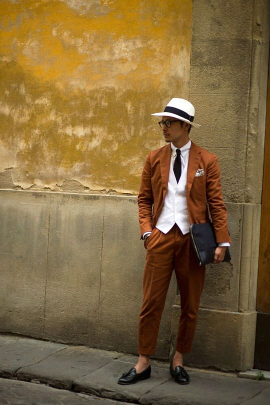 The strongest street style at Pitti Uomo S/S '17