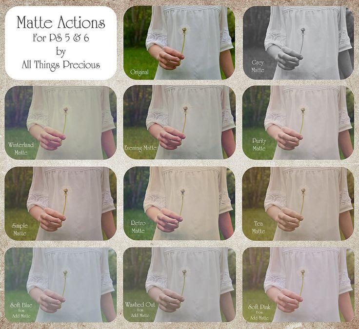 ATP Matte Actions Set. by AllThingsPrecious.deviantart.com on @DeviantArt