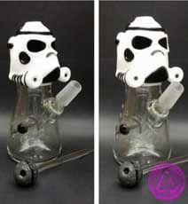 star wars storm trooper glass dab rig bong for sale Get a 15% discount when you  use the coupon code PipesAndBongs