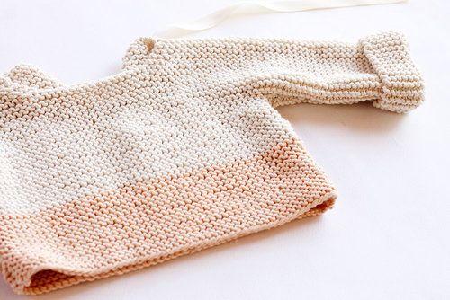 56cec42c4 Spring baby sweater pattern.