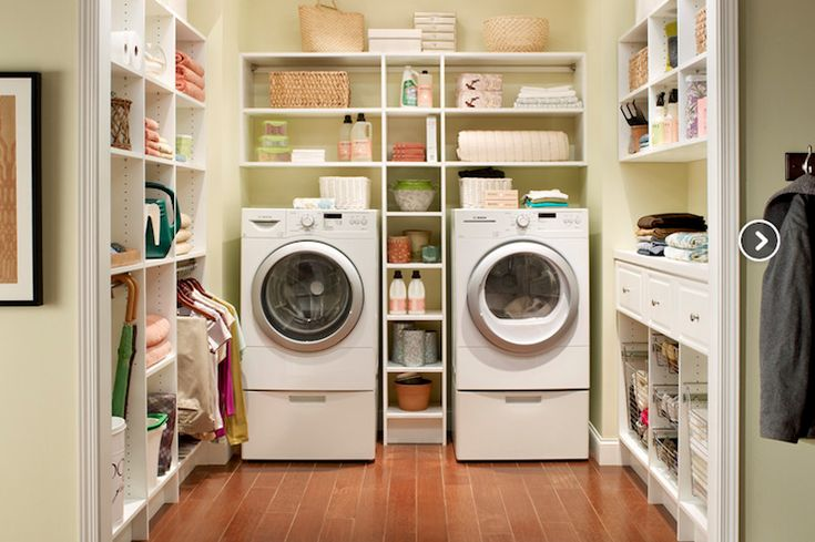 Utility room idea if we get a new washer dryer may have to move laundry room to basement since the current one will be too small, but oh so convenient to have upstairs!