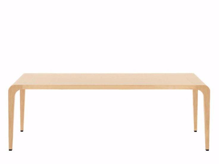 Tavolo allungabile rettangolare ILVOLO - 390 by Alias design Riccardo Blumer