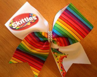 Items similar to Cupcake and chevron cheer bows , cheer bows ...
