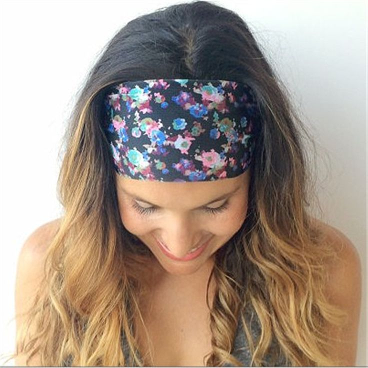 Wide Yoga Head Band //Price: $6.20 & FREE Shipping //