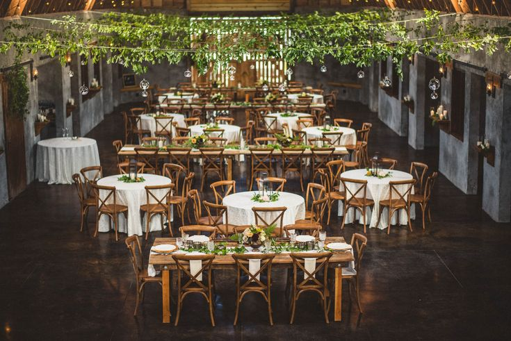 Overlook Barn Wedding Reception For 250 People Rustic